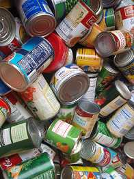 Miscellaneous canned goods